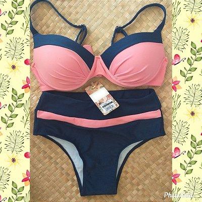 Bikini Summer Times - Salmon - P, M e G