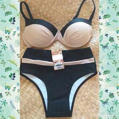 Bikini Summer Times - Black - P, M e G
