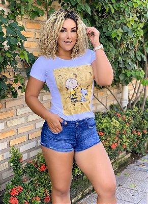 Tshirt Feminina  Atacado SNOOPY