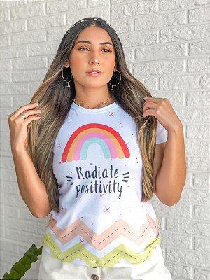 T-shirt RADIATE - Tam.Único - Pronta Entrega - Coleção Florescer