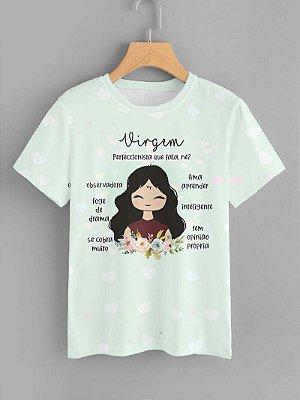 Tshirt Feminina Atacado VIRGEM - SIGNO