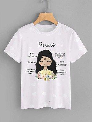 Tshirt Feminina Atacado PEIXES - SIGNO