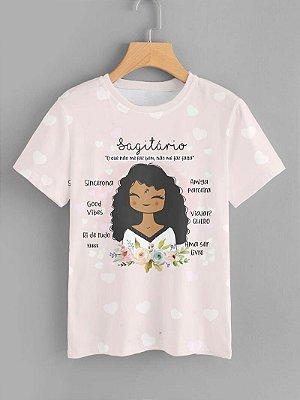 Tshirt Feminina Atacado SARGITÁRIO - SIGNO