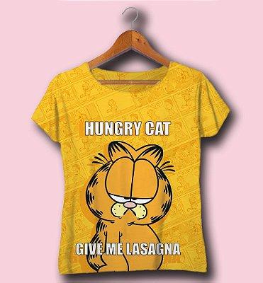 T-SHIRT ATACADO -HUNGRY CAT- CÓD. DISN0812205