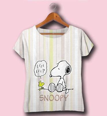 T-SHIRT ATACADO - SNOOPY - CÓD. DISN08122030