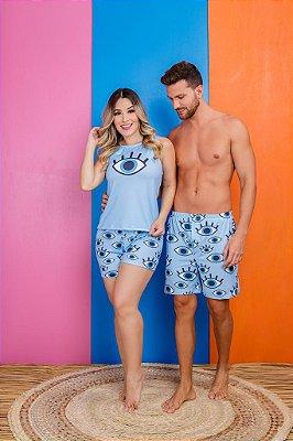 Coleção Casal - Kit pijama casal -  OLHO GREGO
