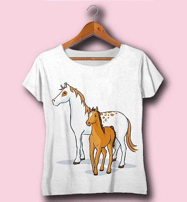 T-SHIRT ATACADO -HORSES- CÓD.ANIM9