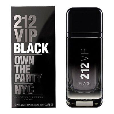 PERFUME 212 BLACK CAROLINA HERRERA EDP MASCULINO