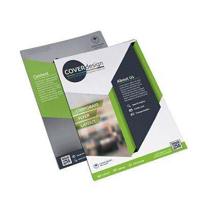 Flyer Panfleto - Formato 20x15 cm - Papel Couche 115gr - 4x4 Cores