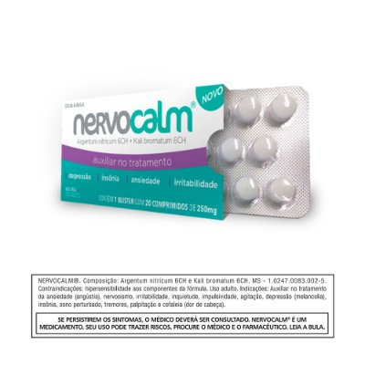 Nervocalm - Blister com 20 comprimidos