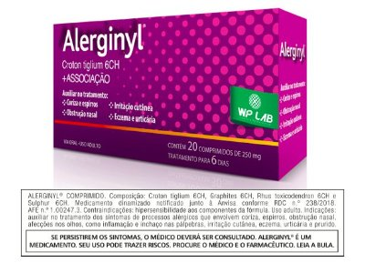 Alerginyl® 20 Comprimidos