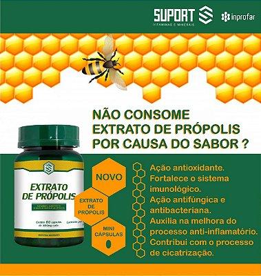 Própolis - frasco com 60 capsulas