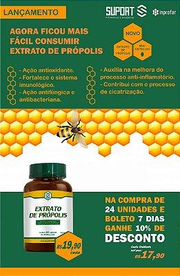 Extrato de Própolis - frasco com 60 capsulas