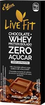 LIVE FIT CHOCOLATE WHEY DE 20GR