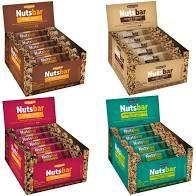 BARRA NUTS-BAR 25GR COM 20 UNIDADE