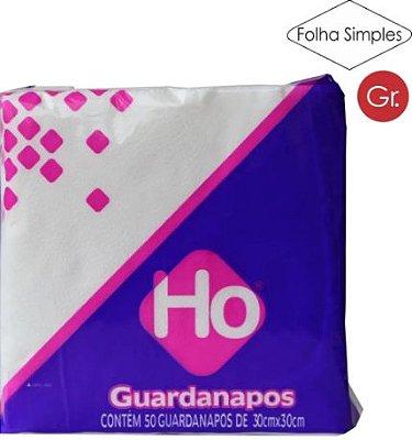 GUARDANAPO HO C/50 30X30 AVULSO