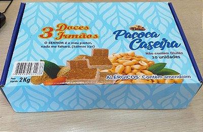 DOCE 3 IRMÃOS PACOCA CASEIRA CAIXA COM 20 2 KILO