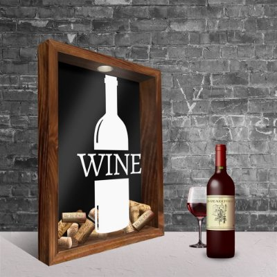 Quadro Porta Rolhas - Wine