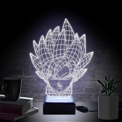 Luminária Goku Sayajin
