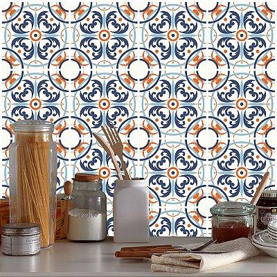 Adesivo Azulejo Ladrilho Português