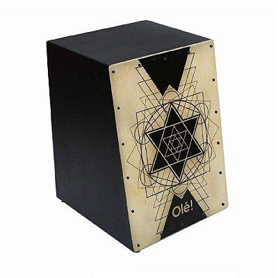 Cajon Acústico Cajon Percussion Olé OL-112