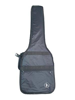 Capa Guitarra Acolchoada Extra Luxo Nylon 70 JPG