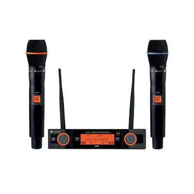 Microfone Kadosh KDSW-482M Duplo Sem Fio
