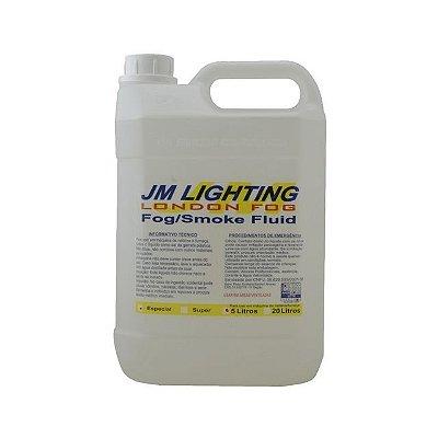 Líquido De Fumaça JM Lighting 5L Especial - Aromas Diversos