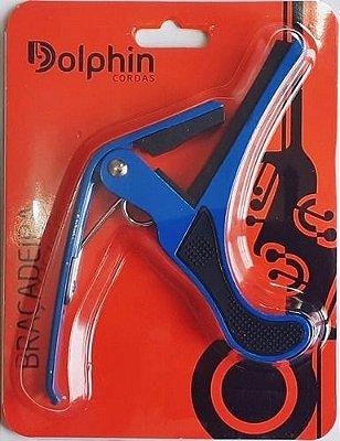 Capotraste Violão Dolphin Azul