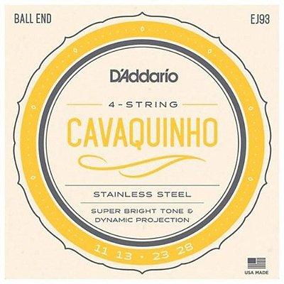 Encordoamento Cavaco D'Addario EJ93