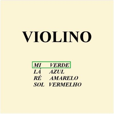 Corda Avulsa Violino M. Calixto Nº 1 Mi