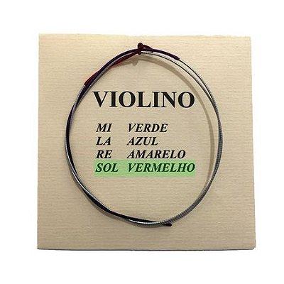 Corda Avulsa Violino M. Calixto Nº 4 Sol