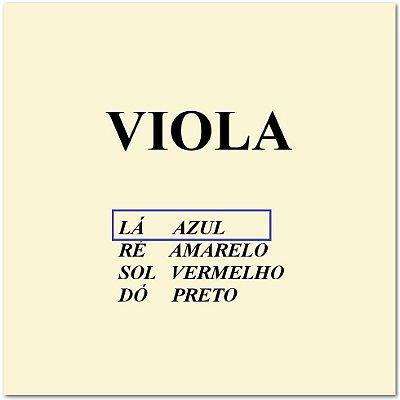 Corda Avulsa Viola de Arco Mauro Calixto Nº 1 Lá
