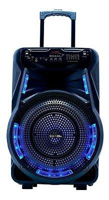 Caixa De Som Sumay Style15 SM-CAP25 1000W Bluetooth