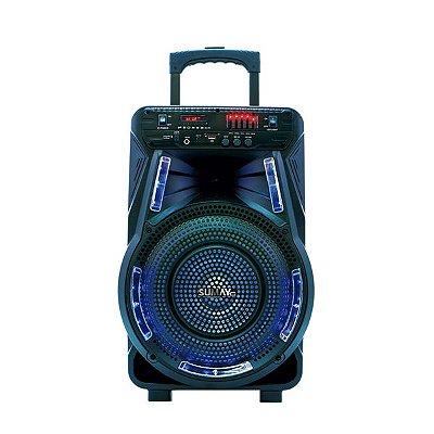 Caixa De Som Sumay Style12 SM-CAP24 800W Bluetooth