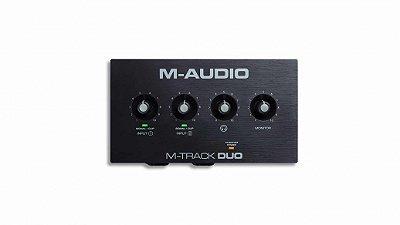 Interface de Áudio M Audio M-Track Duo USB 2 Canais