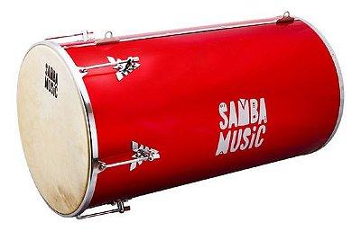Tantan Phoenix Samba Music Madeira Revestida PVC 70x14 Vermelho