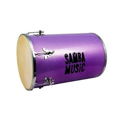 Tantan Phoenix Samba Music Madeira Revestida PVC 70x14 Lilás Sparkle