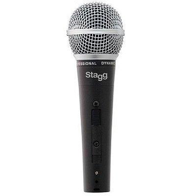 Microfone Stagg SDM50 Dinâmico Com fio