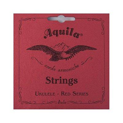 Encordoamento Ukulele Aquila Red Series Soprano High G 83U-SH