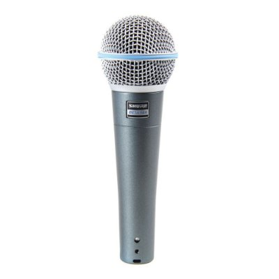 Microfone Shure Beta 58A, com fio
