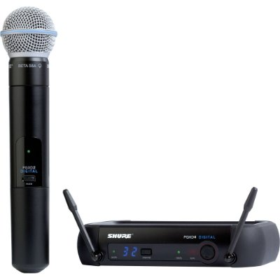 Microfone Shure Digital PGXD24 BETA58-X8