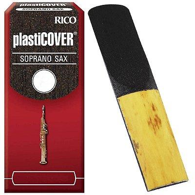 Palheta Saxofone Soprano Rico Plasticover