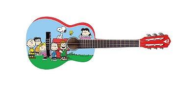 Violão Acústico Infantil Phoenix Snoopy Amigos