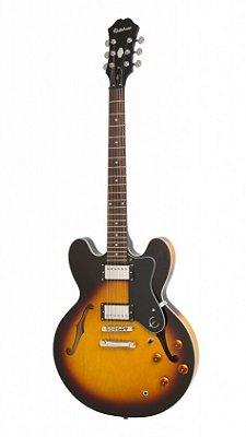Guitarra Semi Acústica Epiphone ES-335 Dot Vintage Sunburst