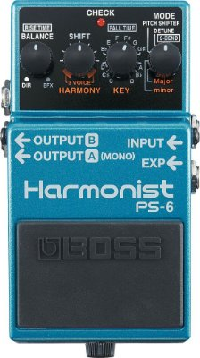 Pedal Guitarra Boss PS-6 Harmonist