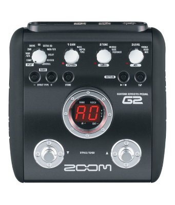 Pedaleira Guitarra Zoom G2 Com Fonte
