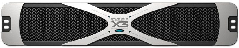 Amplificador de Potência Studio R X3 3600W Rms 2 Ohms