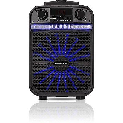 Caixa Multiuso Portátil Hayonik GO!100 20W RMS Bluetooth/MicroSD/USB/FM c/ Bateria