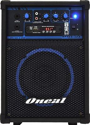 Caixa Multiuso Oneal OCM 190, 40W Rms, USB / SD / FM - Bivolt Manual